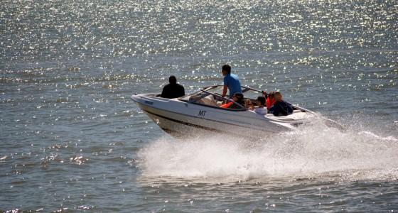 Motor Boat in Lisbon