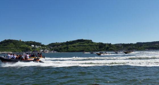 Speedboat for charter