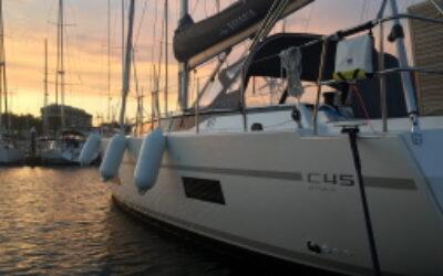 Bavaria C45 sailing yacht