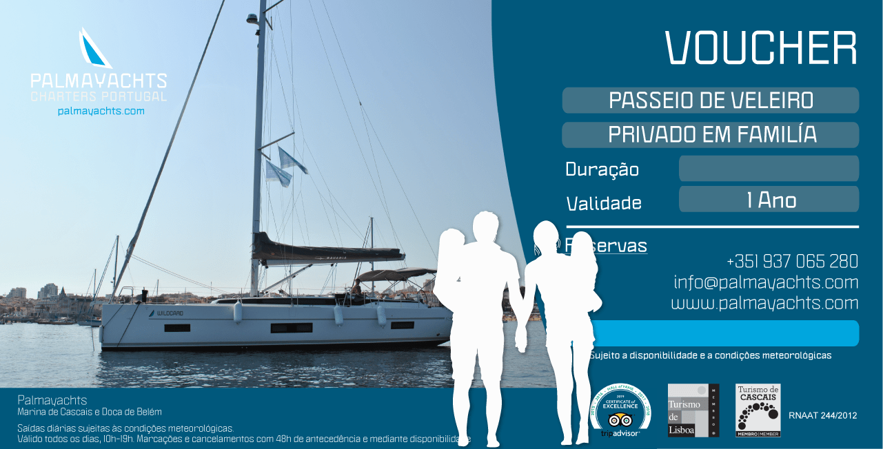 Voucher - Family Private Sailing Cruise in Lisbon