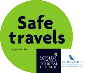 Palmayachts WTTC Safe Travels Stamp